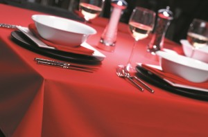 Alpha Red table ware