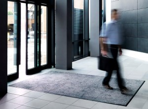 Entrance Mat in grey